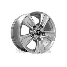 Диски Replica Toyota (TY5045) 8x17 5x150 ET54 DIA110,1 (silver)