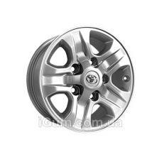 Диски Replica Toyota (TY589) 8x16 5x150 ET60 DIA110,1 (silver)