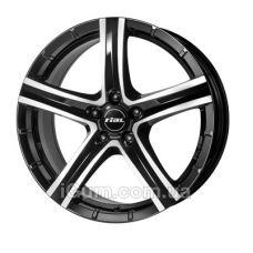 Диски Rial Quinto 9,5x20 5x150 ET52 DIA110,1 (diamond black front polished)