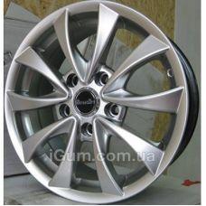 Диски R16 5x112 Street Art SA 196 7x16 5x112 ET38 DIA57,1 (silver)