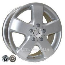 Диски R16 5x120 TRW Z343 6,5x16 5x120 ET45 DIA65,1 (silver)