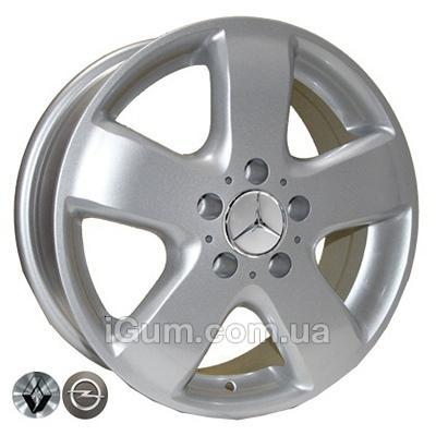 Диски TRW Z343 6,5x16 5x120 ET45 DIA65,1 (silver)
