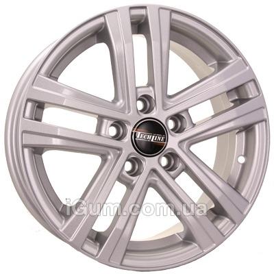 Диски Tech Line TL645 6,5x16 5x114,3 ET45 DIA67,1 (silver)