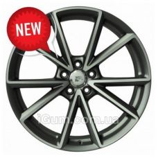 Шины WSP Italy Audi (W569) Aiace 8,5x20 5x112 ET33 DIA66,6 (anthracite polished)
