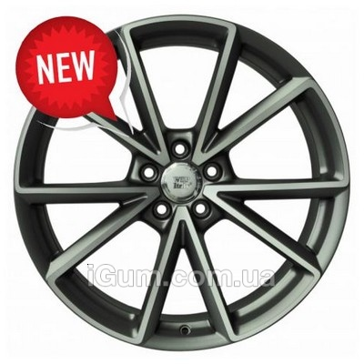 Диски WSP Italy Audi (W569) Aiace 8,5x19 5x112 ET28 DIA66,6 (anthracite polished)