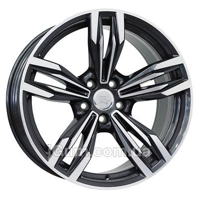 Диски WSP Italy BMW (W683) Ithaca 8,5x20 5x112 ET25 DIA66,6 (anthracite polished)