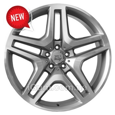 Диски WSP Italy Mercedes (W774) Ischia 9,5x20 5x130 ET50 DIA84,1 (silver polished)