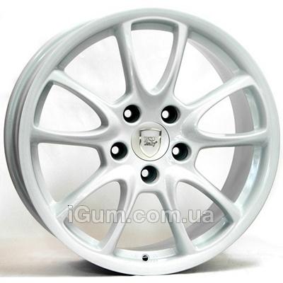 Диски WSP Italy Porsche (W1052) Corsair 12x19 5x130 ET51 DIA71,6 (white)