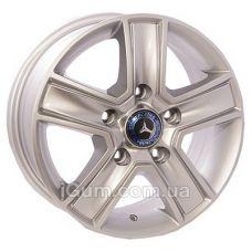 Диски ZW BK473 6,5x15 5x139,7 ET40 DIA98,5 (silver)