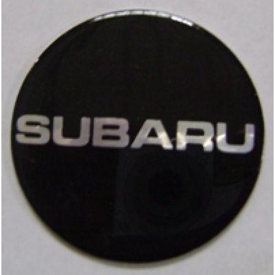Аксессуары Наклейка на диск Subaru 50 плоский черный