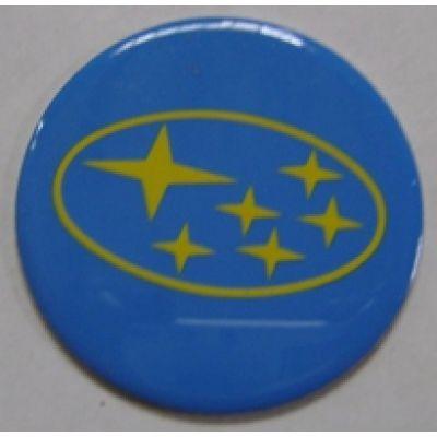 Аксессуары Наклейка на диск Subaru 50 плоский синий