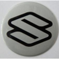 Аксессуары Наклейка на диск Suzuki 50 плоский серый
